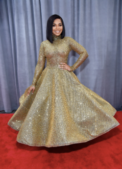 Ashanti in Yas Couture by Elie Madi