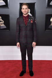 Ben Platt in Valentino and Chopard jewelry