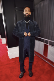 Big Sean in Salvatore Ferragamo