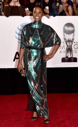 Issa Rae in Marc Jacobs