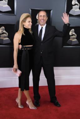 Jessica and Jerry Seinfeld