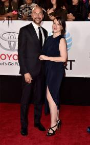 Keegan-Michael Key and Elisa Pugliese