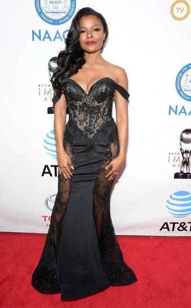 Keesha Sharp in Steven Khalil