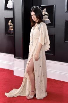 Lana Del Rey in custom Gucci