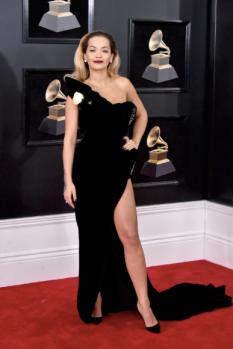 Rita Ora in Ralph & Russo and Lorraine Schwartz jewelry