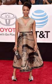 Sonequa Martin-Green in Dior