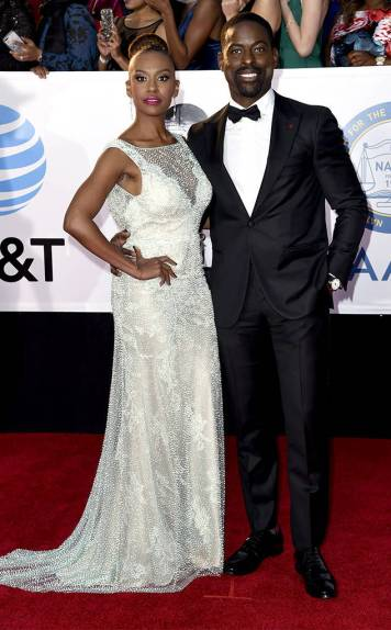 Sterling K. Brown & Ryan Michelle Bathe