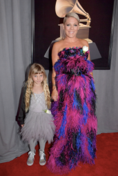 Willow Sage Hart and Pink in Armani Privé