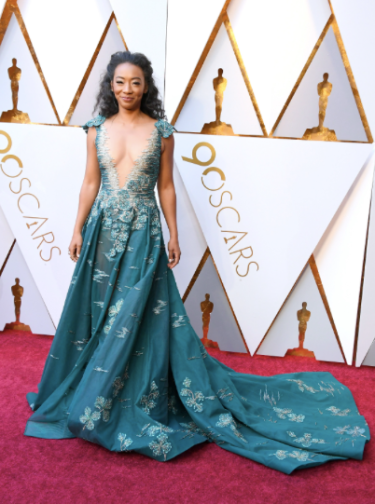 Betty Gabriel in Tony Ward Couture