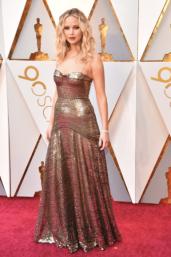 Jennifer Lawrence in Dior