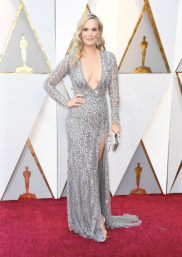 Molly Sims in Naeem Khan