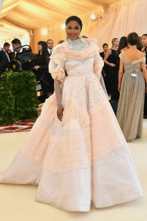 Alicia Quarles in Christian Siriano