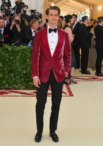 Andrew Garfield in Tom Ford
