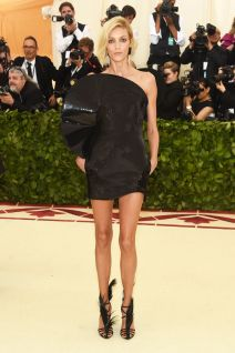 Anja Rubik in YSL by Anthony Vaccarello