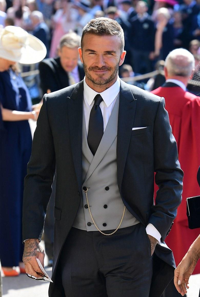 Beckham in Dior