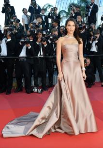 Bella Hadid in Custom Dior