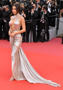Mandatory Credit: Photo by James Gourley/REX/Shutterstock (9665142ak) Chantel Jeffries 'Everybody Knows' premiere and opening ceremony, 71st Cannes Film Festival, France - 08 May 2018