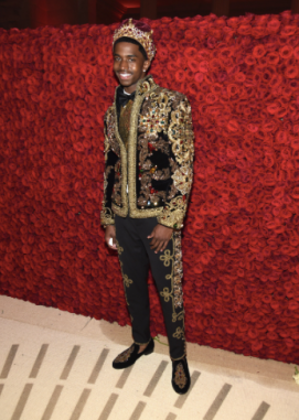 Christian Combs in Dolce & Gabbana