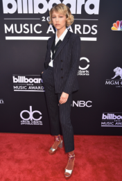 Grace Vanderwaal in Hugo Boss and Chinese Laundry