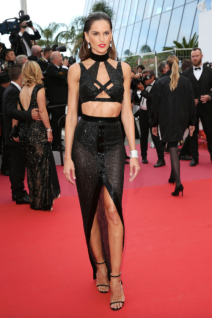 Izabel Goulart in Julien Macdonald