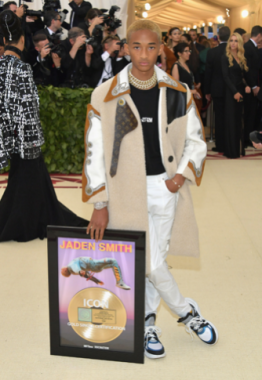 Jaden Smith in Louis Vuitton