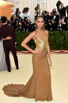 Joan Smalls in Tommy Hilfige
