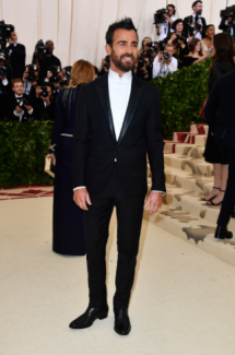 Justin Theroux in Louis Vuitton