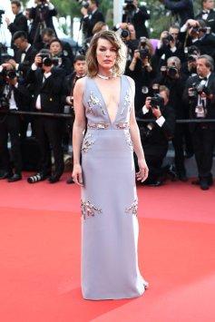 Mila Jovovich in Prada