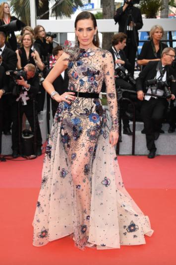 Nieves Alvarez in Elie Saab Couture