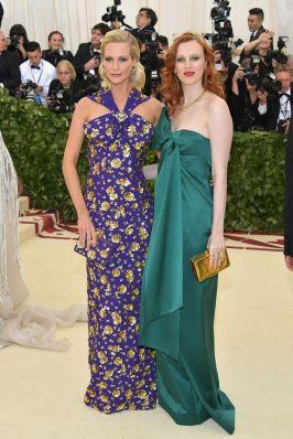 Poppy Delevingne and Karen Elson
