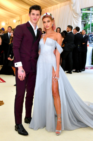 Shawn Mendes and Hailey Baldwin in Tommy Hilfiger