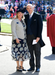 Sir Clive Woodward and Jayne Williams