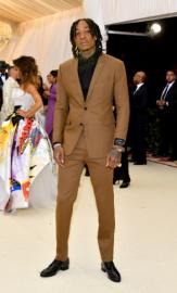 Wiz Khalifa in Dior Homme