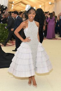 Yara Shahidi in Chanel Haute Couture