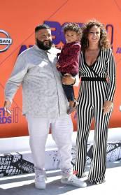 DJ Khaled, Nicole Tuck and Asahd Tuck