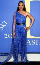 Issa Rae in Pyer Moss