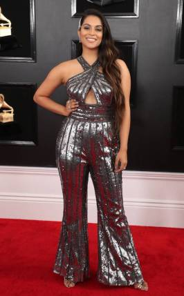 LILLY SINGH In Jovani and Hearts on Fire Jewelry