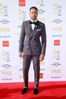 HOLLYWOOD, CALIFORNIA - MARCH 30: Jay Ellis attends the 50th NAACP Image Awards at Dolby Theatre on March 30, 2019 in Hollywood, California. (Photo by Rich Fury/FilmMagic)
