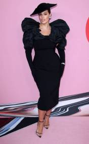 ASHLEY GRAHAM In Christian Siriano