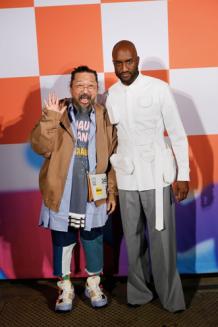 Takashi Murakami and Virgil Abloh