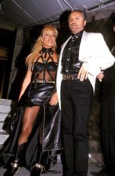 Donatella Versace and Gianni Versace, 1992