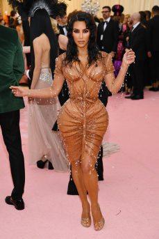 Kim Kardashian West in Manfred Thierry Mugler