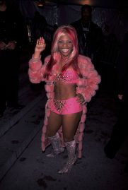 Lil' Kim in Versace, 1999