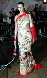 Linda Evangelista in Jean Paul Gaultier Couture, 2004