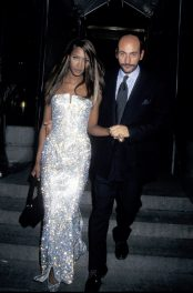 Naomi Campbell in Versace, 1995