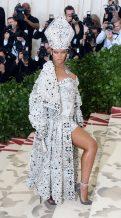 Rihanna in John Galliano, 2018