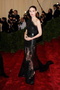 Rooney Mara in Givenchy, 2012